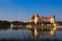 Moritzburg Castle, taken from south-west.