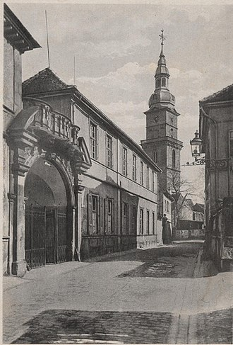 1716 in architecture - Image: Schloss Oberhof in Grünstadt