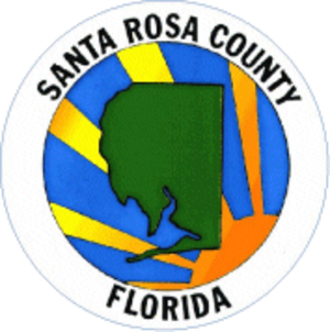 Santa Rosa County, Florida - Image: Seal of Santa Rosa County, Florida