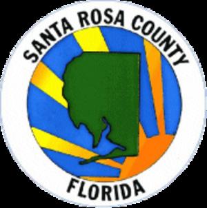 Bagdad, Florida - Image: Seal of Santa Rosa County, Florida