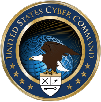 Twenty-Fourth Air Force - Image: Seal of the United States Cyber Command