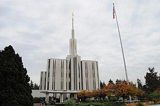 Emil B. Fetzer - Image: Seattle Mormon Temple 02