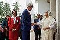 Secretary Kerry Greets Bangladeshi Prime Minister Sheikh Hasina Wazed in Dhaka (28692596523).jpg
