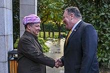 Masoud Barzani - Wikipedia