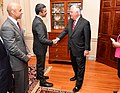 Secretary Tillerson Greets Meets With UAE Foreign Minister Abdullah bin Zayed Before Their Dinner in Washington (34480215184).jpg