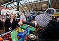 Secretary of State Karen bradley visits Belfast's St George's Market (40041034741).jpg