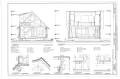 Sections - McDermott Cabin, Town of Dyea (historical town site), Skagway, Skagway-Hoonah-Angoon Census Area, AK HABS AK-225 (sheet 7 of 10).png