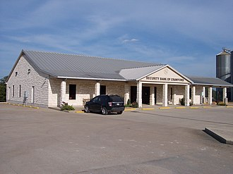 Crawford, Texas - Image: Security Bank of Crawford 2
