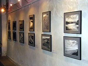 Elio Ciol - Exhibit in Sejny (Poland) in July 2009