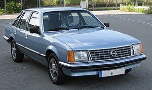 Opel Senator - Image: Senator A1CD7816082009