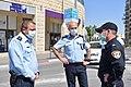Senior staff of Israel Police during COVID-19 pandemic, April 2020.jpg