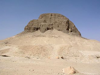 19th century BC - Pyramid of Senusret II at El-Lahun. He was a Twelfth Dynasty Pharaoh