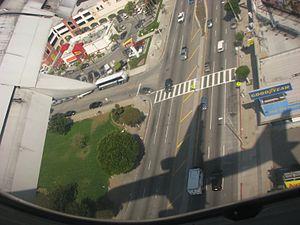 Sepulveda Boulevard - Image: Sepulveda Blvd Los Angeles from the air