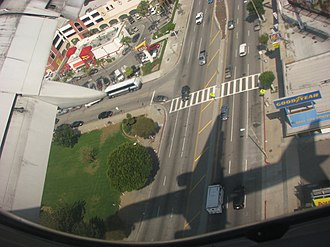 Sepulveda Boulevard - Image: Sepulveda Blvd Los Angeles from the air