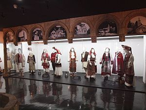 Cultural Heritage of Kosovo - Albanian and Serbian traditional clothing from Kosovo