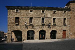 Sérignan-du-Comtat - The town hall of Sérignan-du-Comtat