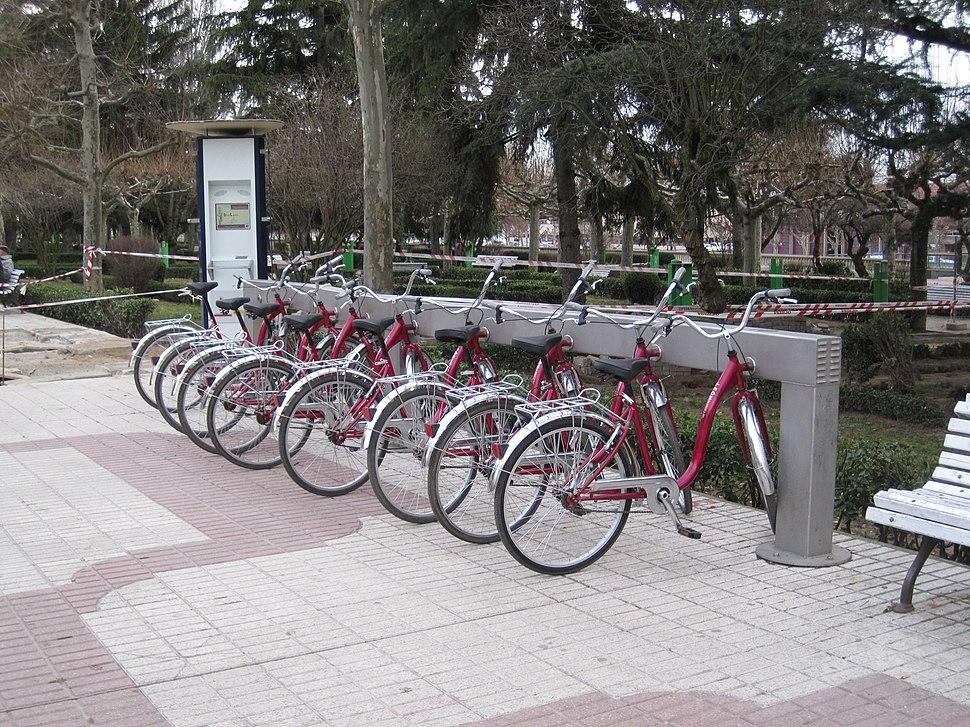 Servicio de préstamo de bicicletas, León