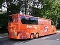 Setra S417 HDH, GTH-W 51, Wollschläger & Partner GmbH, Laucha, FC Rot-Weiss, Erfurt Reisebus, London (rear) - Flickr - sludgegulper.jpg