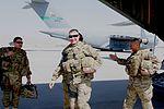 Sgt. Maj. of the Army Ray Chandler arrival on Kandahar Airfield 120404-N-OS584-048.jpg