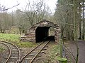 Shed over Miniature Railway - geograph.org.uk - 143006.jpg
