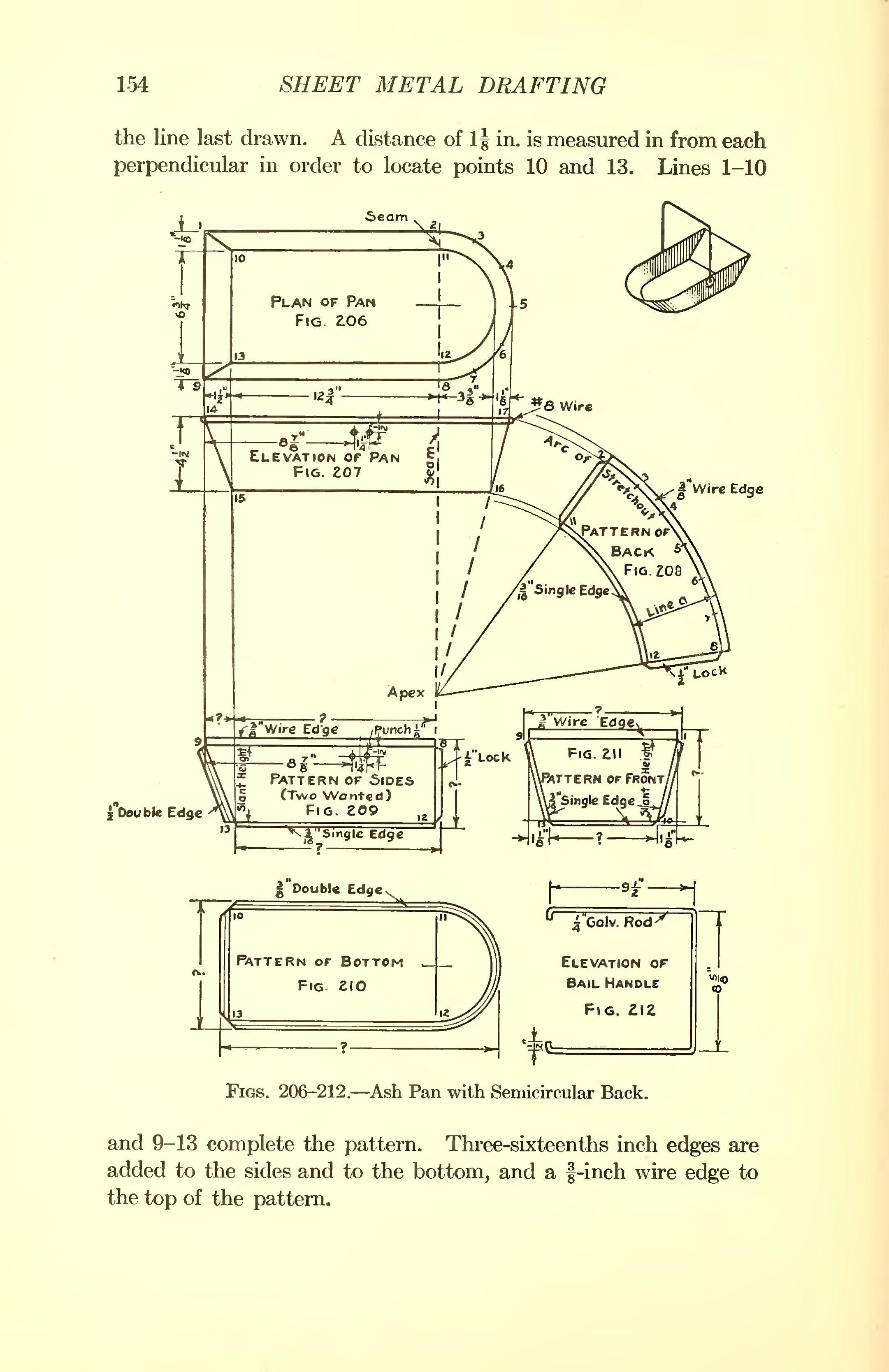Page Sheet Metal Drafting Djvu  168
