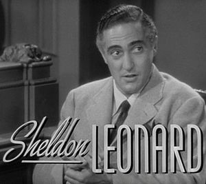 Sheldon Leonard - Leonard in the trailer for Another Thin Man (1939)