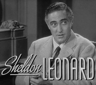 Sheldon Leonard - Leonard in the trailer for Another Thin Man (1939)