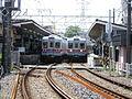 Shibamata Station, platform.JPG