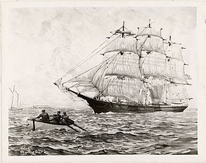 Shooting Star (clipper) - Image: Shootingstarclipper 1851
