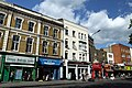 Shops on the Uxbridge Road (A402) in London Borough of Hammersmith and Fulham, spring 2013 (2).jpg