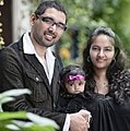 Shyju Mathew with wife Tiny Mathew and daughter Kathryn S Mathew.jpg