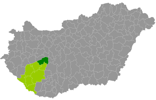 Siófok District Districts of Hungary in Southern Transdanubia, Hungary