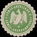 Siegelmarke Armee-Abteilung C Armee-Oberkommando W0345189.jpg
