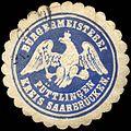 Siegelmarke Bürgermeisterei Püttlingen Kreis Saarbrücken W0226258.jpg