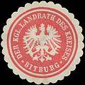 Siegelmarke Der K. Landrath des Kreises Bitburg W0391050.jpg