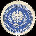 Siegelmarke Deutsche Ansiedlungs - Gesellschaft für Loreto. Peru - Süd - Amerika W0213327.jpg
