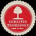 Siegelmarke Gemeinde Tromsdorf W0313749.jpg