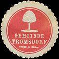 Siegelmarke Gemeinde Tromsdorf W0384150.jpg
