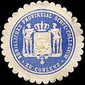 Siegelmarke Königliches Provinzial Schul - Collegium zu Coblenz W0221051.jpg
