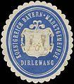 Siegelmarke K. Bayern Marktgemeinde Dirlewang W0385160.jpg