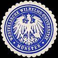 Siegelmarke Westfälische Wilhelms - Universität - Münster W0219509.jpg