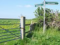 Sign, Druce's Farm - geograph.org.uk - 1286213.jpg