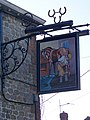 Sign for the Three Horseshoes - geograph.org.uk - 1134883.jpg
