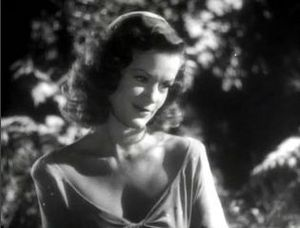 The Curse of the Cat People - Simone Simon as Irena Dubrovna Reed