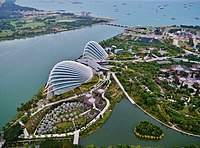 Singapore Gardens by the Bay viewed from Marina Bay Sands 02.jpg