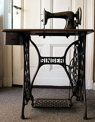 Singer Corporation - A Singer treadle sewing machine