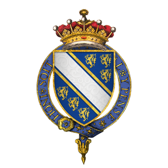Humphrey de Bohun, 7th Earl of Hereford - Arms of Sir Humphrey de Bohun, 7th Earl of Hereford, KG