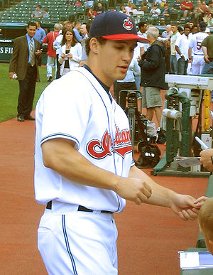 Grady Sizemore - Sizemore signing autographs in 2006 with the Indians