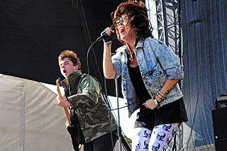 Sleigh Bells (band) American noise pop band