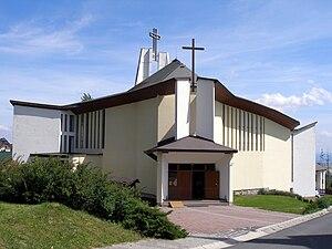 Nový Smokovec - The New Church